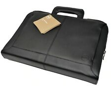 Dell 10H6F XPS 13 Ultrabook 13″ GENUINE Black Leather Attache Carry Bag