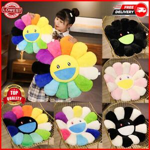 New Takashi Murakami KiKi Ohaha Rainbow Flower Plush Cushion KaiKai Large Pillow