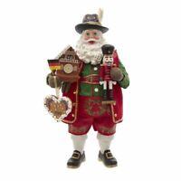Fabriché Musical German Santa Christmas Figurine FA0138 New