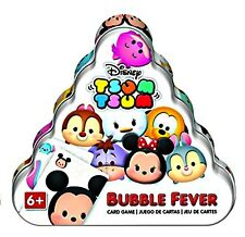 Disney Card Game TSUM TSUM Bubble Fever in Tin Ages 6+ 2-4 Players New