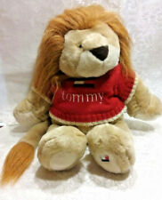 Nice Tommy Hilfiger Lion Red Sweater Plush Stuffed Animal Toy w Designer Clothes