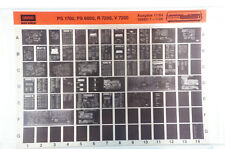 Grundig Service R 7200 Hifi Verstärker Receiver Klassiker Microfiche 1984 K211