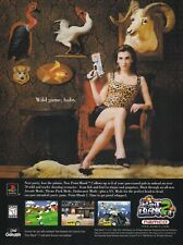 Namco POINT BLANK 2 GunCon PS2 video game magazine print ad page