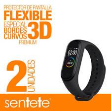 Sentete® 2x Xiaomi Mi Band 4 Protector de Pantalla Flexible 3D PREMIUM