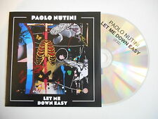 PAOLO NUTINI : LET ME DOWN EASY [ CD PROMO ] ~ PORT GRATUIT