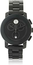 NEW MOVADO Bold Chronograph Diamond Ladies Watch 3600143 MSRP $895 NO RESERVE