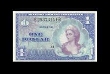 1968 MPC UNITED STATES $1 **SERIES 661** ~Consecutive 2 of 2~ (( GEM UNC ))