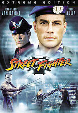 Street Fighter (DVD, 2009, Extreme Edition)
