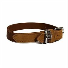 LuxuryLeather Dog Collar 8-12 Inch Soft Touch 04108 by Rosewood