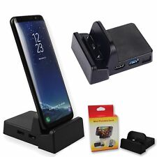 Dex Station Desktop Extension Charging Dock For Samsung Galaxy Note 8/ S8 Plus