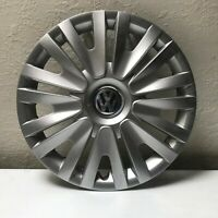 "(1) VW Volkswagen Jetta Golf 15"" OEM Wheel Cover Hub Cap 5K0.601.147 F 2010-2014"