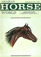 Arabian Horse World - September 1965