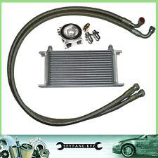 Ölkühler Kit Komplettset 16 Reihen mit Thermostat Audi A3 TT A4 A5 A6 90 100 200