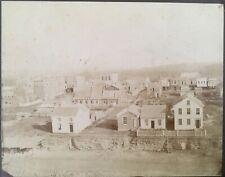 ST. PAUL, MINNESOTA- Large early antique albumen photo-Benjamin Franklin Upton