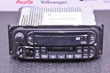 2002 - 2007 JEEP CHEROKEE RADIO /CD / CASSETTE PLAYER P56038585AL +(NO CODE)