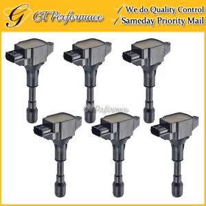 OEM Quality Ignition Coil 6PCS for EX37 FX50 G37 M37 M56/ Nissan 370Z V6 V8