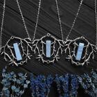10pcs Raw Quartz Branches Necklace Witch Forest Jewelry Statement Wedding