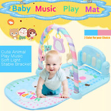3 in 1 Baby Gym Play Mat Lay & Play Fitness Music &Lights Fun Piano Boy