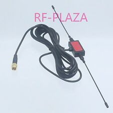 Antenna 470/860MHZ SMA male  horn patch for Universal Car Analog TV 3M RG174
