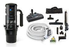 Prolux Cv12000 Central Vacuum Unit System w Electric Hose Power Nozzle Kit