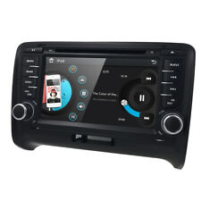 2 DIN Audi TT MK2 Car Headunit DVD Player Stereo GPS Sat Nav Bluetooth FM Radio