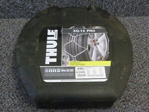 Thule XG-12 Pro Snow Chains 240 - Used
