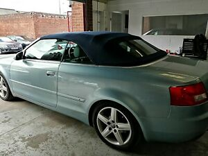 Audi A4 Convertible Soft Top Roof supplied and fitted