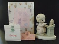 """PRECIOUS MOMENTS """"SHARING"""" - #PM-942 - NEW IN BOX"""