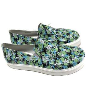 Crocs Citilane Roka Slip On Mens 9 Standard Fit 204527 Electric Blue Sneaker