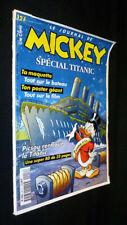 Le journal de Mickey : Spécial TItanic (Hebdomadaire n°2417, 14 Octobre 1998)