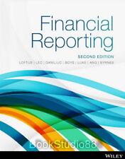 NEW Financial Reporting 2E Janice Loftus Leo 2nd Print on Demand (Black & White)