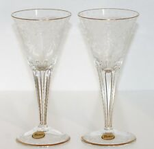 Moser Crystal Glass Series Maharani 2 Pcs Chalice White Wine with Packaging