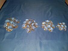 Vintage 36 Glass Chandelier Prisms