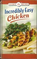 Incredibly Easy Chicken Cookbook 2008 Snacks Grilling Pasta Salads Soups Wings