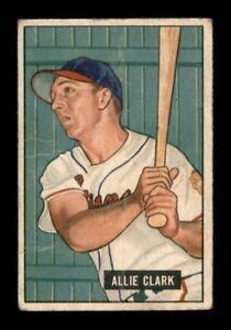 1951 Bowman Set Break # 29 Allie Clark GD *OBGcards*