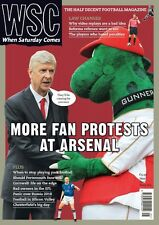 WSC When Saturday Comes May 2017 Issue 363 ARSENAL WENGER RUSSIA