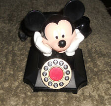 Walt Disney Mickey Mouse AT&T Push Button Telephone