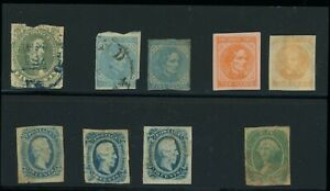 CSA Stamp mint and used Group, faults, cat $469+
