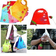 Reusable Folding Shopping Bag Grocery Shoulder Pouch Outdoor Eco Handbag Totes