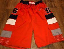 VINTAGE Nike Syracuse Orange AUTHENTIC Basketball Shorts Men 90s SIZE LARGE