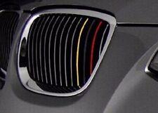German Flag 3 Strip Grill Sticker for BMW F20 F30 F10 E46 E90 E60 Z4 I3 E39 E91