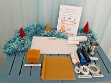 le kit complet pour fabrication gaufrée I bougie cire d'abeille maisontalentdor