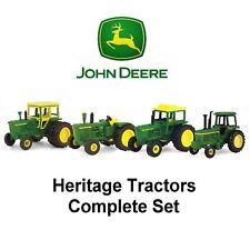 ERTL John Deere 37743 HERITAGE TRACTORS ~ Retired - Complete Set of 4! ~ NIP