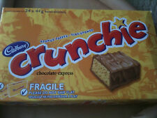 48 CADBURY CRUNCHIE FULL SIZE CHOCOLATE BARS FREE SHIPPING