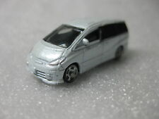 Toyota Estima Modellista White Diecast Model Toy Car Dress Up Car Lawson Promo