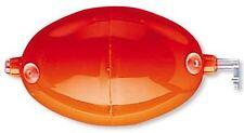 CORMORAN Wasserkugel oval, mit Innenfuehrung, 40mm, 1 Stk, rot, 46-69040