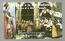 SCHEDA ITALIA NUOVA 2000 PRIVATE RESE PUBBLICHE CAGLIARI SARDEGNA GOLDEN N. 302