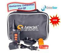 Aetertek AT-918C-1 600 Yard 9 Level 1 Dog Training Anti Bark & Waterproof Collar