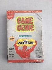 Sega Megadrive Game Genie Cheat Cartridge Boxed /w Manual Galoob PAL UK Genesis