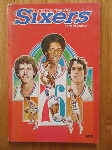 1978-79 PHILADELPHIA 76ers Media Guide JULIUS ERVING BOBBY JONES RALPH SIMPSON